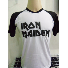 Camiseta Iron Maiden Haglã
