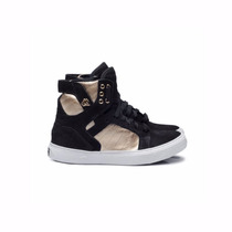 Tênis Sneaker Dourado E Preto - Hardcore Footwear
