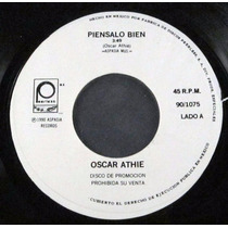 Oscar Athie - Piensalo Bien Single Promo 7