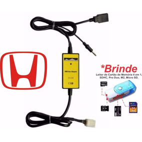 Adaptador Usb Interface Cabo Honda, New Civic Crv Fit Accord