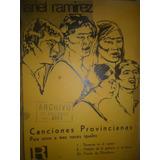 Partitura Piano Canciones Provincianas Ariel Ramirez