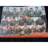 Revista Estadio N° 390 Equipo Audax Italiano 1950