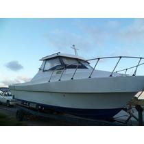 Lancha , Tipo Crucero De Pesca Deportiva , 2 Motores Impeca