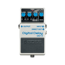 Pedal Dd-3 Boss Branco Digital Delay