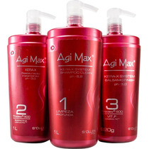Agi Max Kit Escova Inteligente - 1000ml