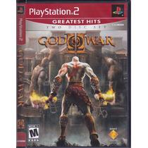 God Of War 2 Greatest Hits Original Ps2 Lacrado Mídia Física