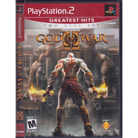 God Of War 2 Greatest Hits Original Ps2 Lacrado Mídia Física