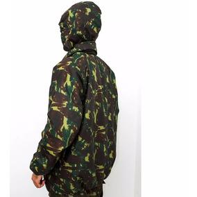 Jaqueta Blusão Malvinão Impermeável Camuflado E Dupla Face
