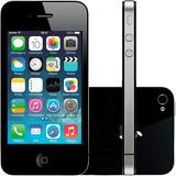 Iphone 4s 16gb Preto Apple Ios7 Wi-fi 3g Desbloqueado