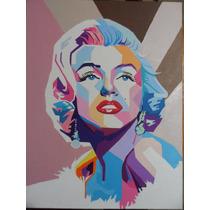 Pintura De Marilyn Monroe
