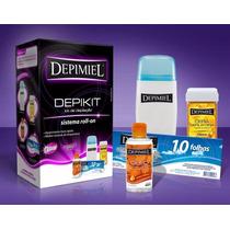 Kit Depilação Depimiel Depikit Aquecedor Cera 110v Novo
