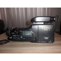 Filmadora Sharp S-vhs-c Hq C860 - Liga, Mas Não Grava.