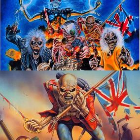 Adesivos Do Iron Maiden - Eddie - Várias Opções