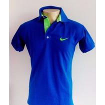 Kit 5 Camisa Camiseta Polo Nike Várias Cores Frete Grátis