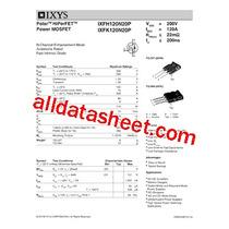 Mosfet Ixys Ixfk120n20p 200v 120a