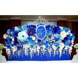 Decoração Flores Gigantes Casamento Festa Eva Eventos Painel