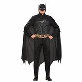 Roupa Cosplay Batman Morcego Dc Comics Heroi