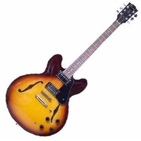 Texas E60 - Guitarra Tipo 335 Sunburst - Envío Gratis!!!