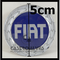 Calota Tampa Miolo Centro P/ Roda Original Liga Leve Fiat