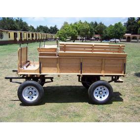 Coche Tipo Western Wagon - Importado - Carreta