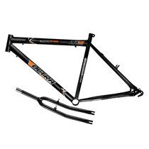 Quadro Em Aço Ultra Bike Aro 26 Com Garfo - Preto