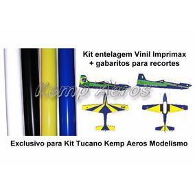 Entelagem Vinil Aero Tucano T-27/ A-29 Esquadrilha Da Fumaça