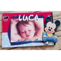 Portaretratos Souvenirs Mickey Mouse Bebé 13x18cm X10 Unid
