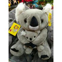 Coala De Pelúcia Fofy Toys Com Filhote( Urso Pelúcia).