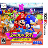 Mario Sonic At The London 2012 Olympic Games 3ds