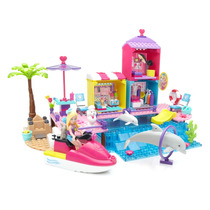 Mega Blocks Barbie Lindo Paseo Por La Playa