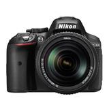 Cámara Nikon D5300 + Accesorio Lente Af-p 18-55mm Vr Negra