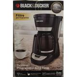Cafetera Programable 12 Tazas Mod. Cm1051b - Black&decker