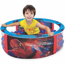 Piscina De Bolinhas Spider Man Infantil Homem Aranha - Lider