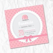 Tarjeta Invitacion Baby Shower Bautismo - Papel Fotografico