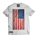 Camiseta Camisa Bandeira Dos Eua Estados Unidos