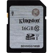 Cartão Kingston Sdhc 45mb/s Classe 10 16gb Sd Original 200x