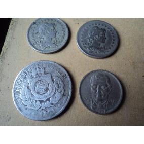 Lote De Monedas De 200 Reis De Diferentes Años, Muy Raras