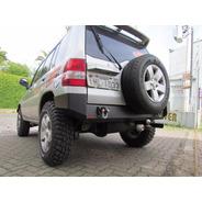 Para-choque Traseiro Para Mitsubishi Pajero Io Tr4 Até 2009