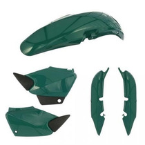 Kit Carenagem P/ Titan Cg 125 Ano 2000 2001 - Verde Metálico