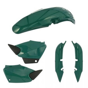 Kit Carenagem P/ Titan Cg 125 Ano 2000 2001 - Verde Metálico