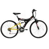 Bicicleta Aro 26 Tb100xs/pa, 18 Marchas, V-brake, Quadro Aço