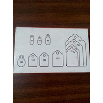 Etiqueta De Carton Con Cordon Para Colgar 101 Un Millar 1000