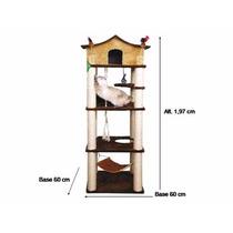 Arranhador Torre 4 Andares Para Gatos