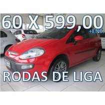 Fiat Punto Attractive 1.4 Flex Entrada + 60 X 599,00 Fixas