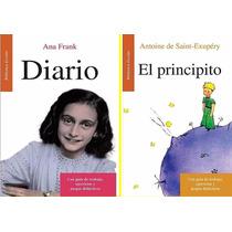 El Principito - El Diario De Ana Frank Paquete 2 Libros