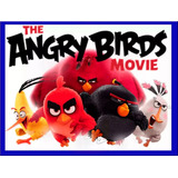 Kit Imprimible Angry Birds La Pelicula Fiesta Torta Cumple