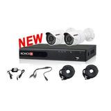 Kit Video Vigilancia Provision Isr Ahdkit-basic Dvr+2cams