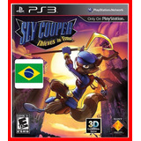 Sly Cooper Thieves In Time Viajante Do Tempo- Ps3 Código Psn