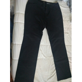 Pantalón Negro Elastizado Lee Mujer Talle 8-petit Usa.