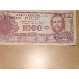 Billete De 1000 Guaranies - Republica Del Paraguay